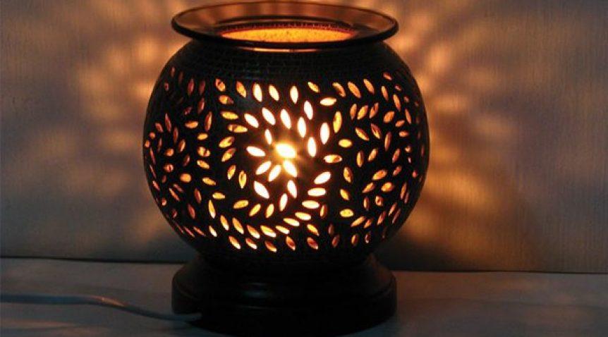 Đèn xông tinh dầu gốm