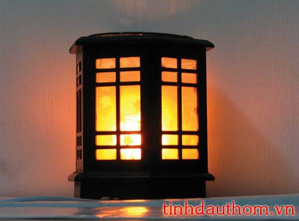 đèn xông tinh dầu gỗ lục lăng