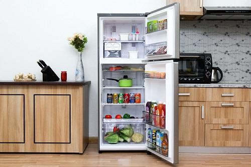 khử mùi thức ăn trong tủ lạnh
