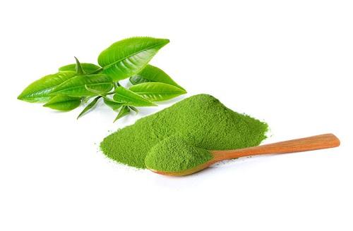 trị tàn nhang bằng trà xanh