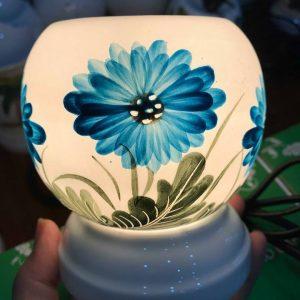 Đèn xông hoa 3D xanh mini