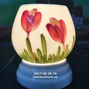 Đèn vẽ hoa tuy líp size trung