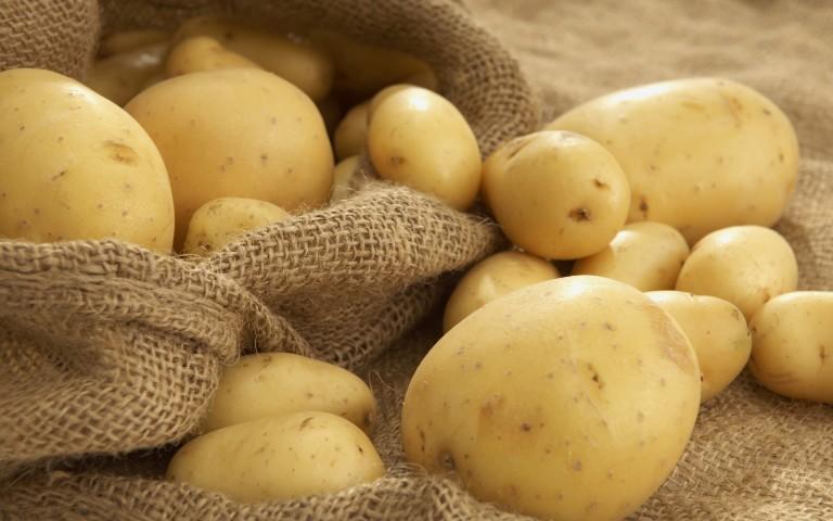trị mụn cám bằng khoai tây