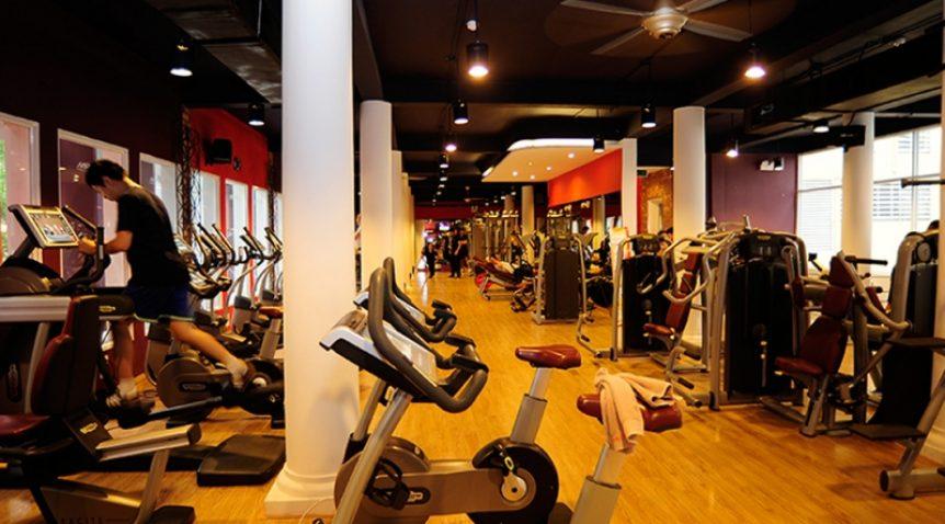 Khử mùi trong phòng tập gym và yoga
